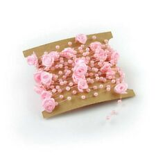 5 Meters Fishing Line Multicolor Pearl Beads Flower Party Garland Wedding Decor