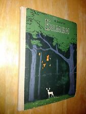 Felix Salten Bambi Forword by Nagibin Illustrated G Nikolsky In Russian 1987