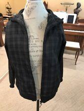 Youth Jacket By Zero Xposur Black Plaid Soft Inside Size Large (14-16)