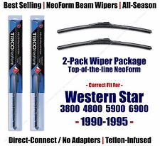 Wipers 2pk Premium fit 1990-1995 Western Star 3800 4800 5900 6900 16180x2