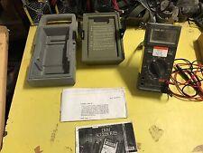 EX MOD Fluke 25 GP Handheld Multimeter Set, NSN - 6625-99-252-3606 GWO