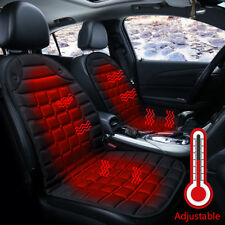 12V Car Heated Heating Front Seat Cushion Cover Warmer Pad Van Auto Chair CA