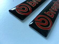 2 Pics small EMBLEM car Badge BREMBO JDM