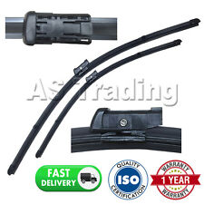 "FOR AUDI A4 AVANT MK3 2007- DIRECT FIT FRONT AERO WINDOW WIPER BLADES 24"" 20"""