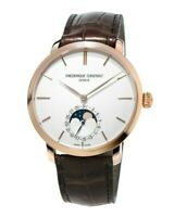 Frederique Constant Men's 18k Rose Gold Automatic Moon 42mm Watch FC-705V4S9