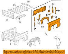 GM OEM Pick Up Box Bed-Side Panel Left 15294334