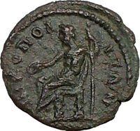 SEPTIMIUS SEVERUS 193AD Ancient Authentic Roman Coin ZEUS  i22682