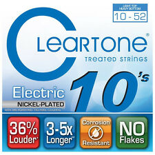 Cleartone 9420 Nickel Plated Electric Guitar Strings 10-52  lthb  gauge