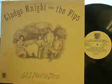 ► Gladys Knight & the Pips - All I Need Is Time (Soul 739) (PL) ('73)