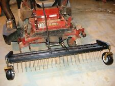 "NEW JRCO 60"" DETHATCHER TINE RAKE HD 470 SERIES MOUNT BAR FERRIS ZERO TURN MOWER"