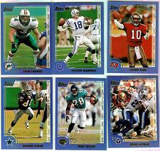 2000 Topps PROMOTIONAL SET  (6-Card Set) Peyton Manning