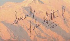 JOHN GOTTI * Auto Autograph Signature Postcard * RARE FULL NAME * PSA/DNA