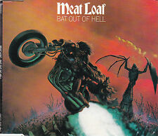 MAXI CD SINGLE 4T MEAT LOAF + JIM STEINMAN BAT OUT OF HELL