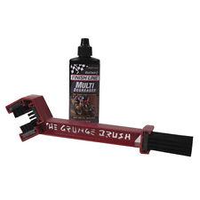 57-00802 Grunge Brush Motorcycle ATV Quad Chain Cleaning Brush & Cleaner Combo