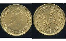 HONG KONG  5 cents 1965