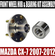 Mazda CX-7 Front Wheel Hub And Bearing Kit Assembly 2007-2012