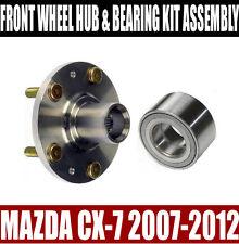 Mazda CX-7 Front Wheel Hub And Bearing Kit Assembly 2007-2012