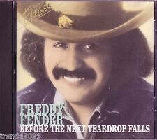FREDDY FENDER Before Next Teardrop Falls CD Classic 70s Country You'll Lose Good