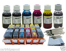 Refillable cartridges for Canon PGI-225 CLI-226 MG6120 MG6220 MG8120 MG8220 4oz