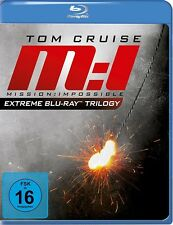 BILLY/CRUISE,TOM/DE PALMA, - MISSION IMPOSSIBLE EXTREME TRILOGY  3 BLU-RAY NEU