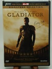 Gladiator Russell Crowe (Dvd, 2000, 2-Disc Set) Signature Selection Dolby Sound