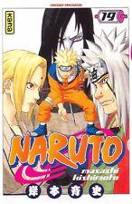 NARUTO tome 19 Kishimoto manga shonen