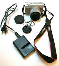 CANON EOS M100 + EF - M 15-45 mm + LENSES BLACK + HAMA 49 PROFI LINE FILTER