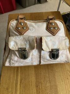 Beige playboy bunny purse