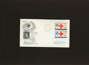 Turks & Caicos Islands 1963 Red Cross set on illustrated First Day Cover