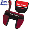 "BEN SAYERS XF RED NB5 34"" OVERSIZED GRIP MALLET PUTTER +HEADCOVER / NEW FOR 2020"