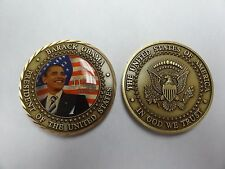 CHALLENGE COIN BARACK OBAMA 44TH PRESIDENT OF THE UNITED STATES GREAT SEAL RARE