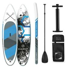 Paddle Board SUP Stand UP Surf Gonfiabile Runner Padding 305x10x77cm Blu