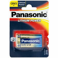 Panasonic CRV3 Camera Battery Lithium 3V Kodak Sony Fuji Digital Camera