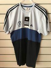 Adidas  Schalke 04  T Shirt  Gr.  164  Org. FB Türkis-Blau  UVP 29,99 €