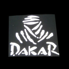 1pcs Universal Creative White DAKAR Off-road Reflective & Waterproof Car Sticker