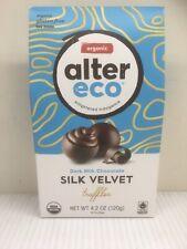 Alter Eco 2 pk of 10 Organic Drk Milk Chocolate Silk Velvet Truffles-Exp 6/21/20