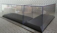 2 used AUTOART Display Cases 1:18 but suitable for models and kits of most sizes