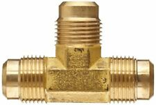 """PROPANE FITTING REDUCING TEE 5/8"""" INLET  X 1/2 """" X 1/2 """" MALE FLARE"""