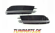 Fog Light Blinds for Audi A6 C7 4G before Facelift Honeycomb Grille New