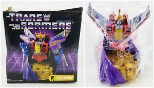 "Transformers AFX Exclusive 2007 Coronation Starscream 6"" Resin Bust Hasbro"