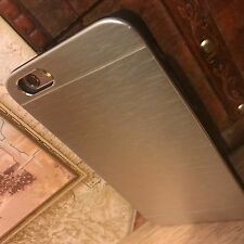 iPhone 6 Rugged Element High Impact Metal Reinforced Ballistic Shell Silver Case
