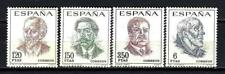 Spain 1967 Yvert n° 1489 à 1492 Celebrities new 1st choice