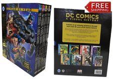 DC Comics A Visual History 8 Book Box Set Year By Year