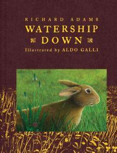 Watership Down, Hardcover by Adams, Richard; Galli, Aldo (ILT), Brand New, Fr...