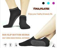 Pairs Yoga Non Slip Pilates Massage Socks Exercise Gym Fitness Yoga Socks