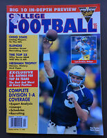 PREVIEW SPORTS COLLEGE FOOTBALL 1995 Annual Magazine Guide VG+ Ron Powlus Cover