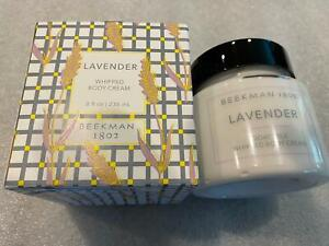 Beekman 1802 Goat Milk Body Whipped Cream Lavender Sealed in Box 8 Ounce
