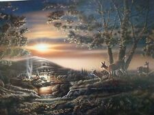 Terry Redlin Sharing the Sunset Print-Limited Edition-Certificate-Dealer 23x36