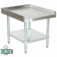 "Stainless Steel Table Commercial Mixer Grill Heavy Equipment Stand NSF 30"" x 24"""