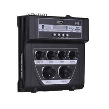 Mini Karaoke Mixer Microphone Stereo Audio Echo Mixer Home/Outdoor Sound Console